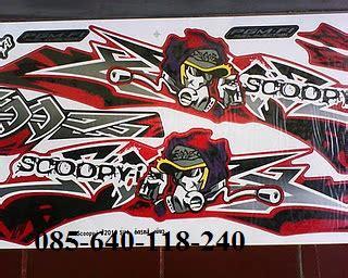 Striping Variasi Scoopy Fi Club12 1 jupite gp autos post
