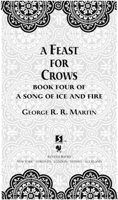 A Feast for Crows - Martin George