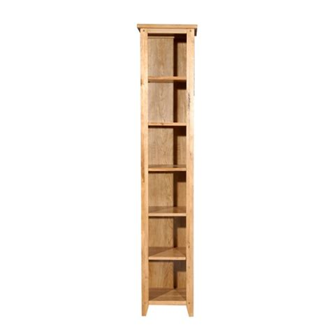 tall oak bookcase with drawers bookcases ideas element tall narrow five shelf bookcase