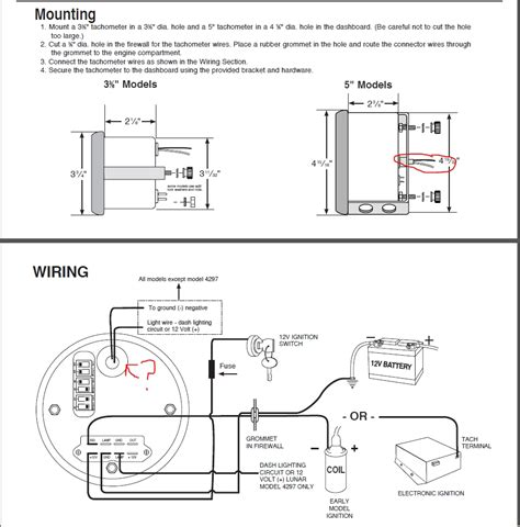 autometer tach wiring diagram  wiring diagram