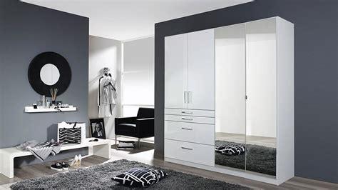Kleiderschrank Weiß Hochglanz Spiegel by Kleiderschrank Homburg Mit Spiegel Wei 223 Hochglanz B 181 Cm