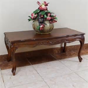 carved wood coffee table international caravan 3830 st carved wood coffee table