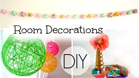 How To Make Room Decorations | diy spring summer room decorations youtube