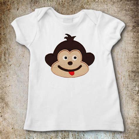 monkey applique monkey applique template lea designs