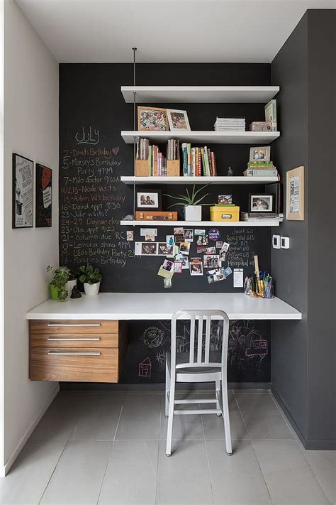 office idea 32 smart chalkboard home office d 233 cor ideas digsdigs