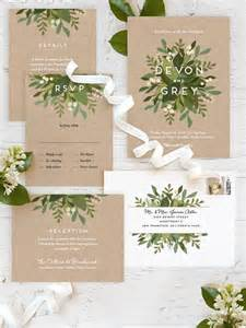 garden wedding invitations 25 best ideas about wedding invitations on