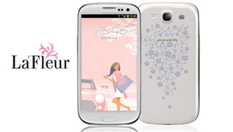 themes samsung lafleur samsung launches la fleur collection for women in