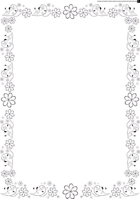 cornice fiori cornicette e bordi maestra