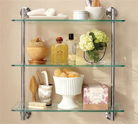 pottery barn shelves pottery barn shelf beautiful bathroom inspiration