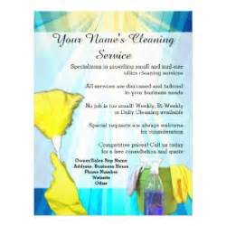 commercial cleaning flyer templates cleaning service flyers programs zazzle
