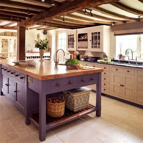 country kitchens with islands these 20 stylish kitchen island designs will you