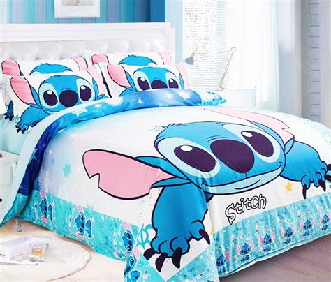 lilo and stitch bed set new lilo stitch bedding sets blue boys bed set designer king queen twin size quilt