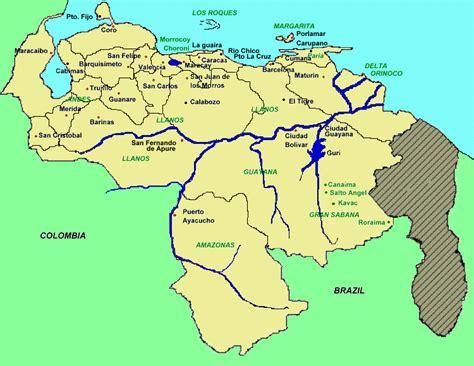 imagenes de venezuela en el mapa mapa interactivo de venezuela venezuela tuya