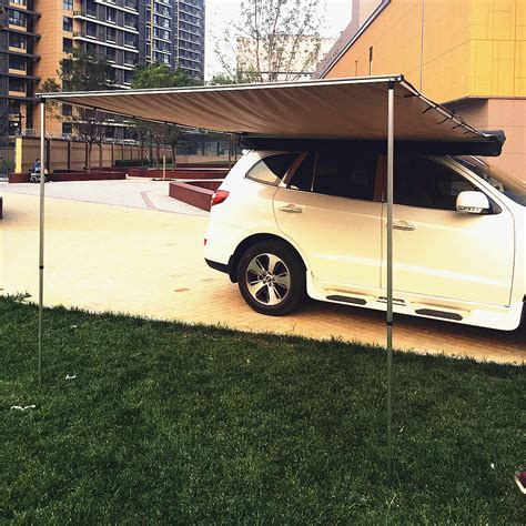 retractable 4wd awnings offroad roof top tent foxwing awning shelter retractable