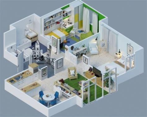 inilah gambar denah rumah minimalis 3 kamar tidur paling keren