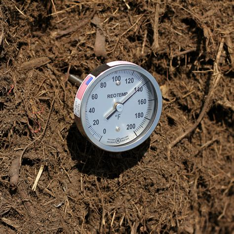 Kompos Termometer duty compost thermometer with fast response tip reotemp instruments