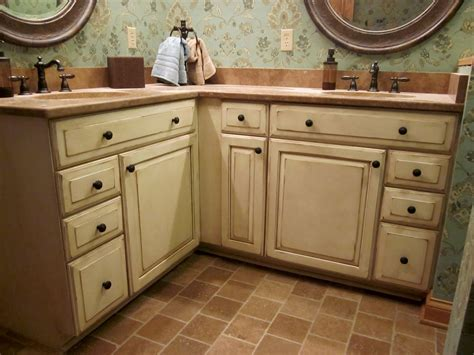 dixon specialty finishes llc louisville faux hand painted cabinets before and after - antique paint cabinets in kitchen house ideas pinterest