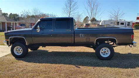 how long is a long bed truck 1982 chevy silverado 3500 crew cab long bed 4x4 truck