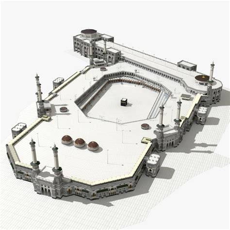 layout plan of masjid al haram 3d model masjid al haram