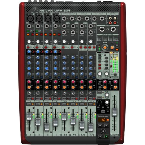 Mixer Xenyx behringer xenyx ufx1204 small format mixer at gear4music