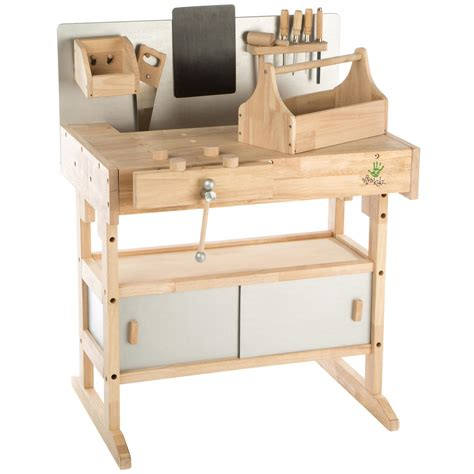 tavolo da lavoro per bambini ultrakidz banco da lavoro per bambini in legno massiccio
