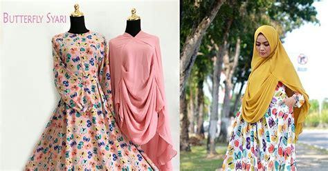 Butterfly Syari Gamis Modern ayuatariolshop distributor supplier tangan pertama onlineshop gamis syari baju hijabers