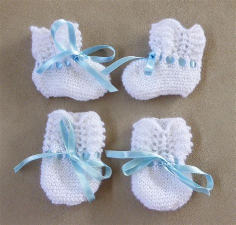 how to knit baby booties how to knit baby booties with four needles
