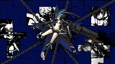 ps vita black rock shooter themes black rock shooter the game wallpaper by diabolicturkey on