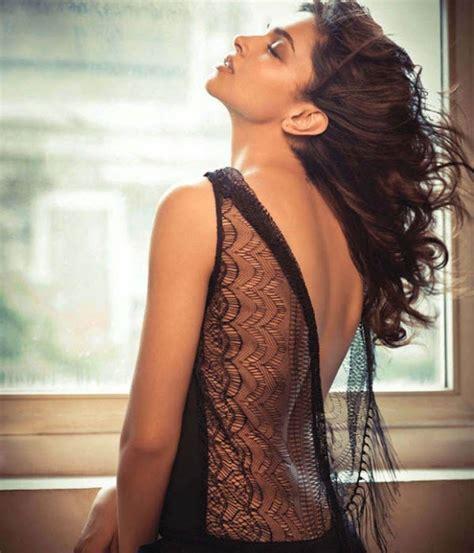 deepika padukone body expose photos in a net dress hotpose