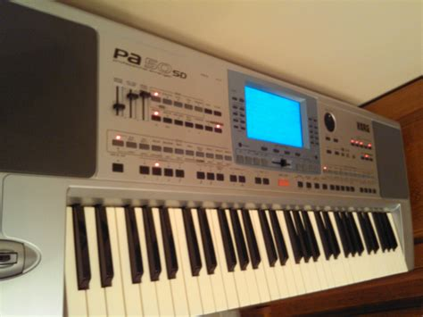 Keyboard Korg Pa50sd Second korg pa50sd image 670735 audiofanzine