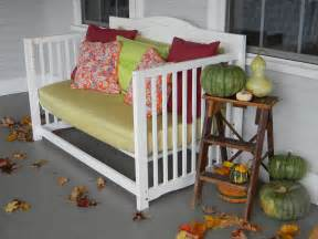 Convert Crib To Daybed Baby Crib Turned Front Porch Daybed