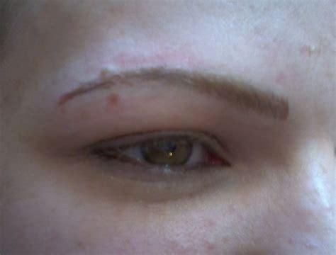 tattoo eyebrows sheffield semi permanent eyebrows this client had very fair