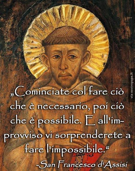 san francesco san francesco d assisi frasi di pace
