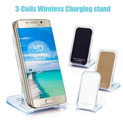 qi wireless charging charger plate adapter pad receiver for iphone 7 plus 6 6s ebay