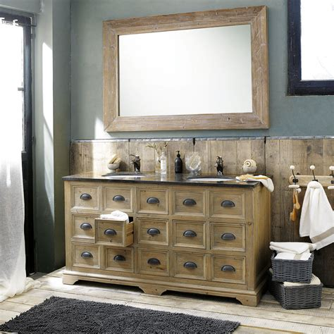 comptoire de l info grand miroir en bois naturel miroir d 233 coration