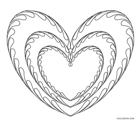 hearts coloring pages free printable coloring pages for cool2bkids