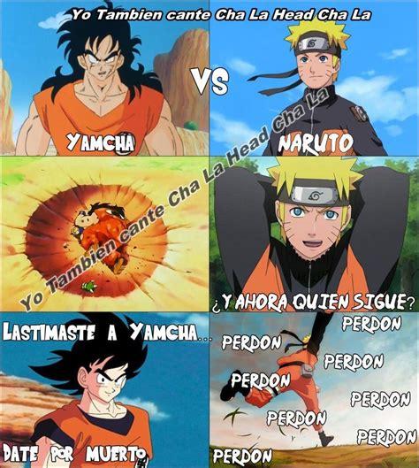 Naruto Vs Goku Meme - goku vs naruto meme