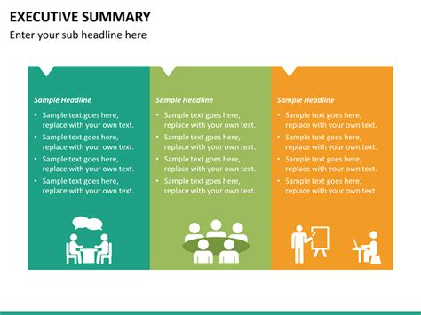 Executive Home Plans by Executive Summary Powerpoint Template Sketchbubble