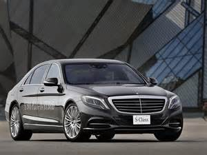 Mercedes S Class S500 Mercedes S Class In Hybrid Revealed For Frankfurt