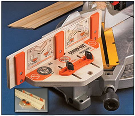 finds crown molding cutting jig toolmonger