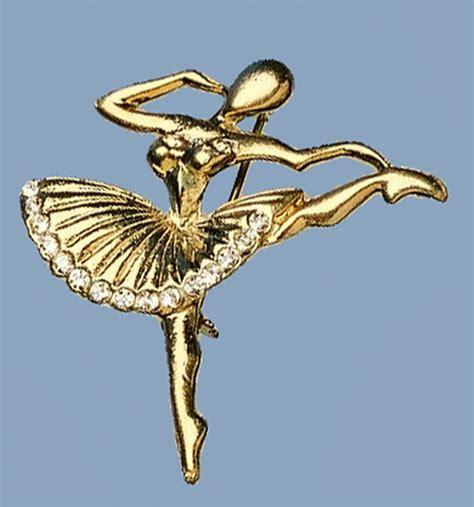 rhinestone ballet brooch ballet gifts