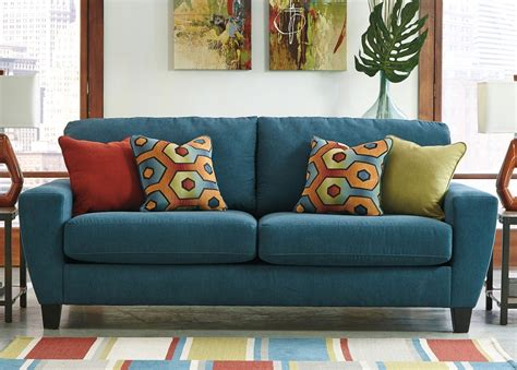 Teal Living Room Chair Sagen Teal Sofa Sofas Living Room Furniture Living Room