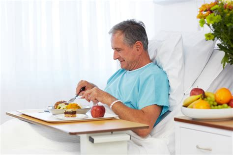 bed diet how healthy is hospital food for better us news