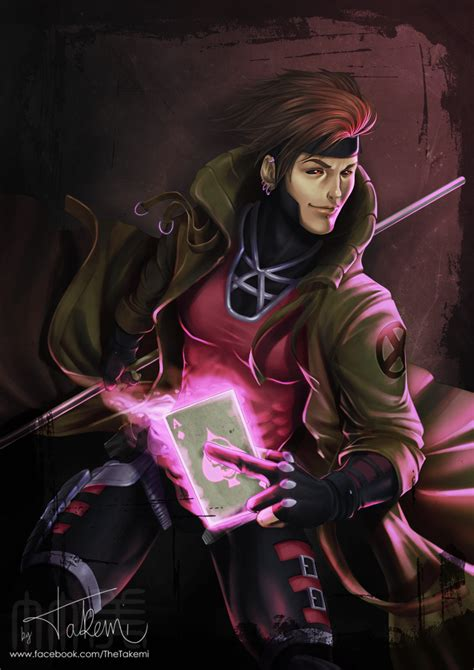 X Gambit gambit by thetakemi on deviantart