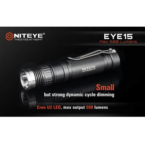 Niteye Eye30 Senter Led Cree Xm L U2 2000 Lumens niteye eye15 senter led cree xm l u2 500 lumens black jakartanotebook