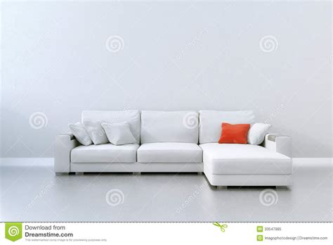 white couch cushions red cushion royalty free stock photo image 33547985