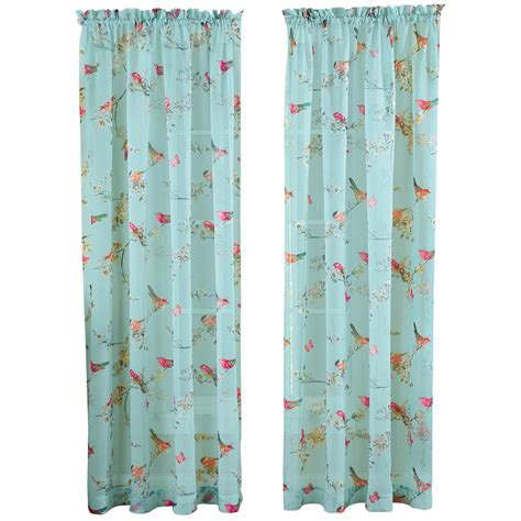 curtain spring collections etc spring birds butterflies flowers