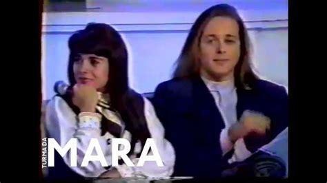 de mara a mara 8490611335 mara maravilha e marcelo no programa da hebe em 1993 youtube