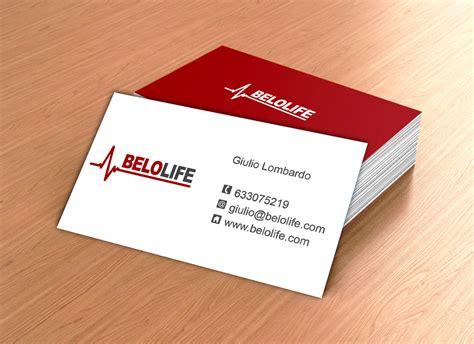 tarjeta de visita diseo dise 241 o de tarjetas de visita para belolife online studio