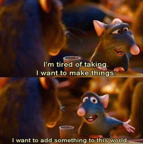 quotes film ratatouille pin by mai on movies series pinterest